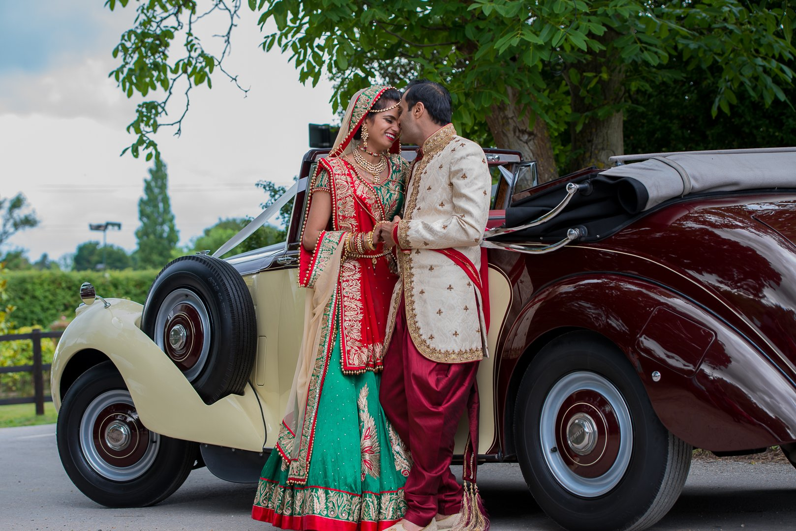 Bhaktivedanta Manor Temple - Indian Wedding Photographer